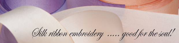 Silk ribbon embroidery image