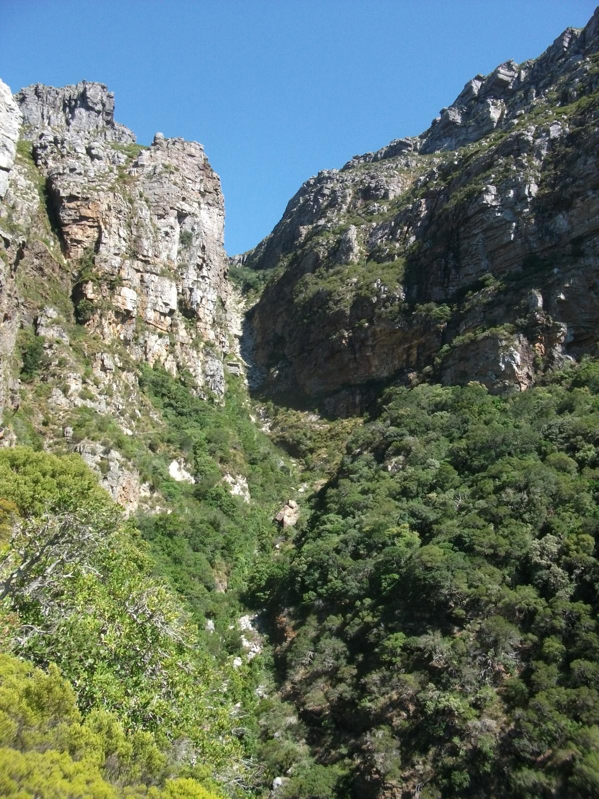 Hike above camps bay and Llandudno