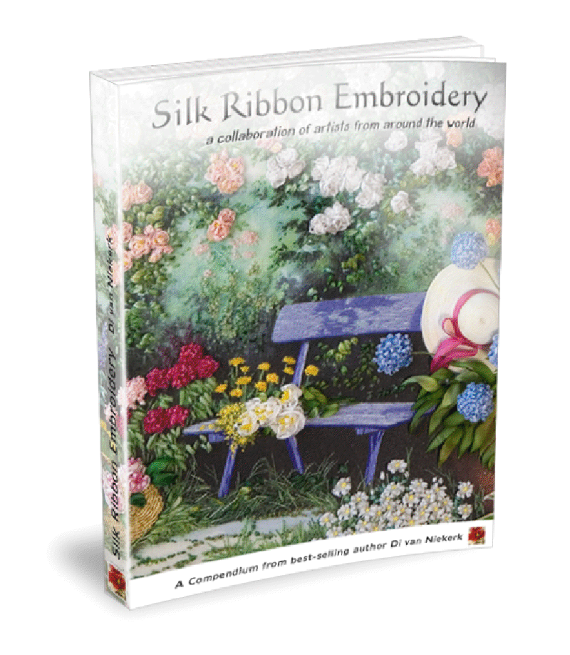 Silk Ribbon Embroidery — a collaboration of artists from around the world