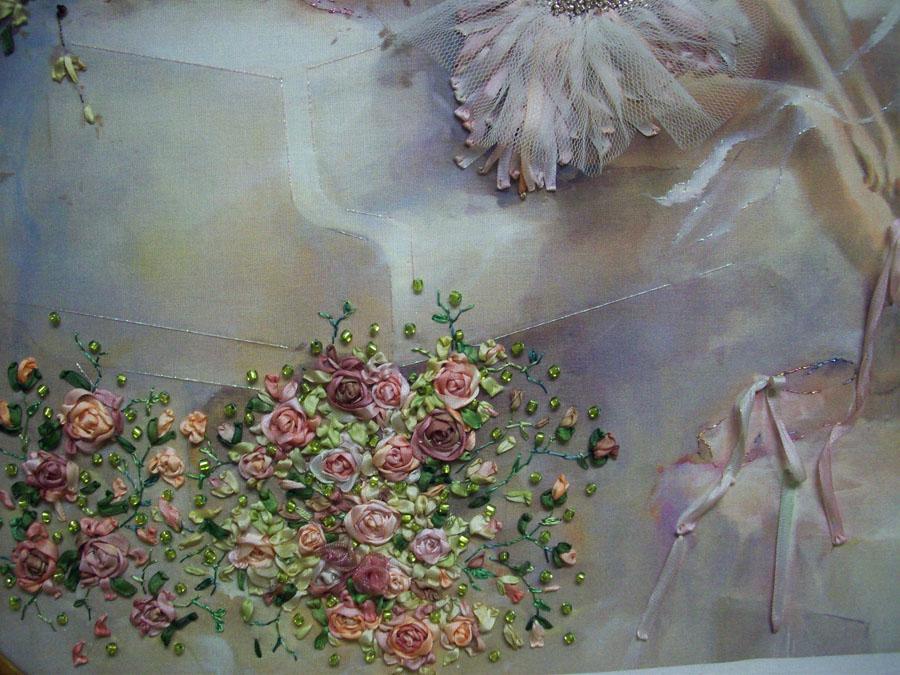 close-up detail (roses)