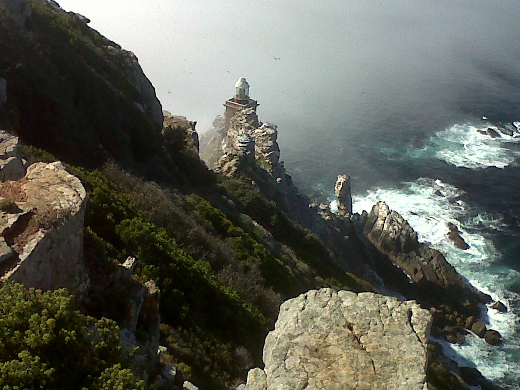 Hiking at Cape Point