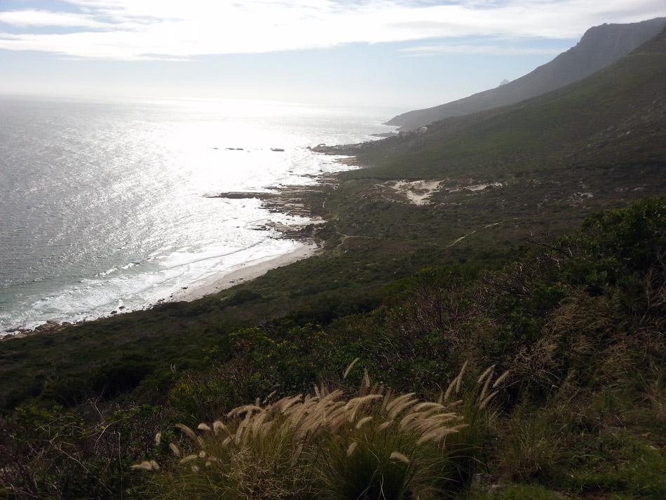 Hike above Sandy Bay, Landudno