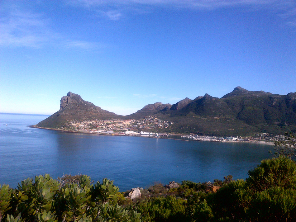 1 we started here in Hout Bay