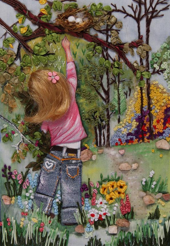 Girl Reaching by Pravinya Mohan