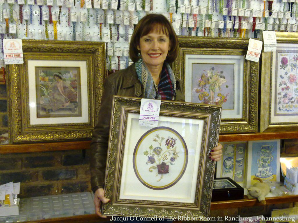 Jacqui O'Connell of The Ribbon Room in Randburg, Johannesburg