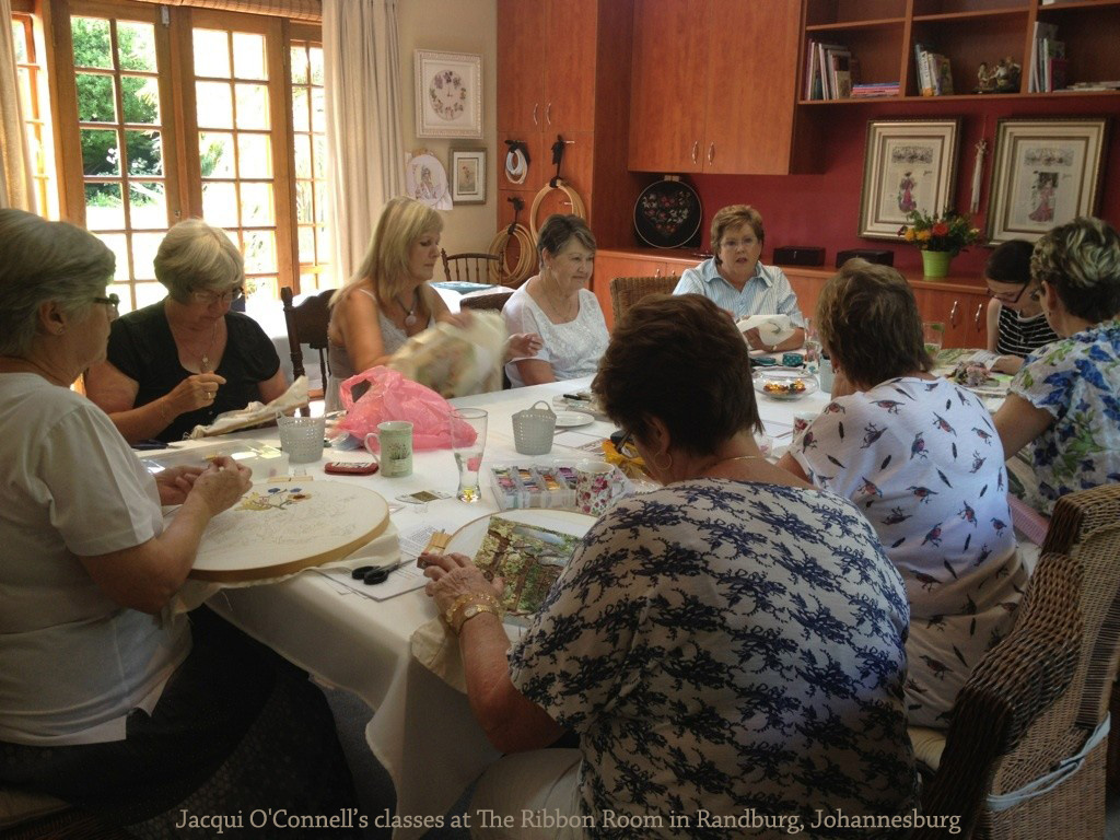 Jacqui O'Connell's classes at The Ribbon Room in Randburg, Johannesburg