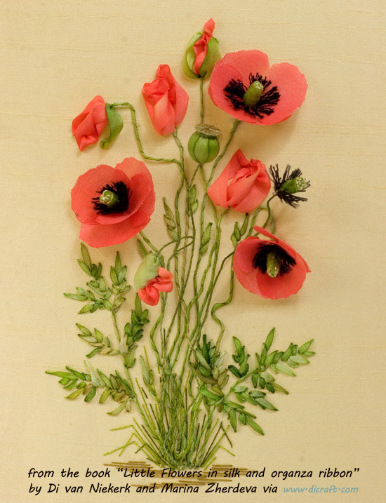 Poppies by Marina Zherdeva in Little Flowers book