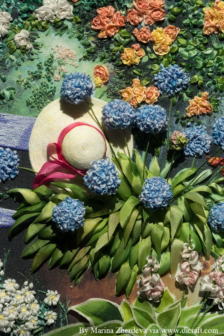 Hat and Agapanthus