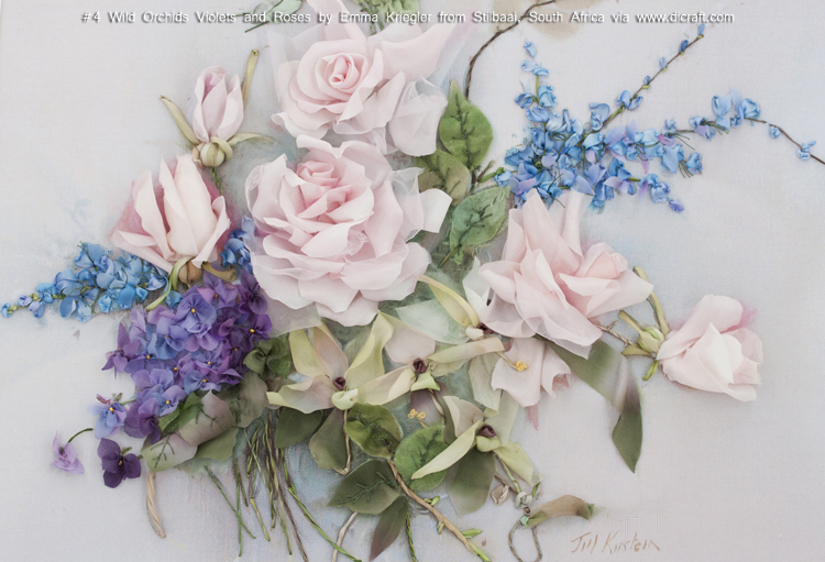 #4 Wild Orchids Violets and Roses by Emma Kriegler from Stilbaai, South Africa