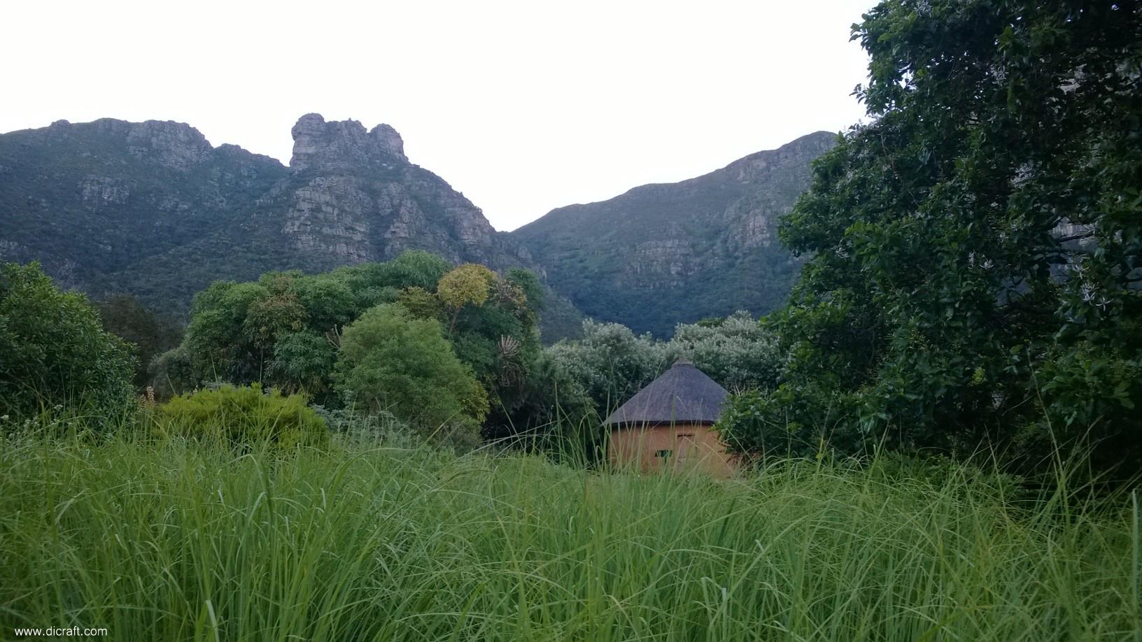 Castle Rock from Kirstenbosch Gardens