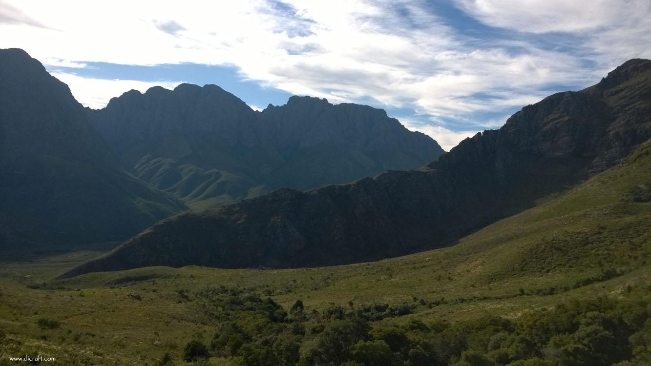 Jonkershoek outside Stellenbosch
