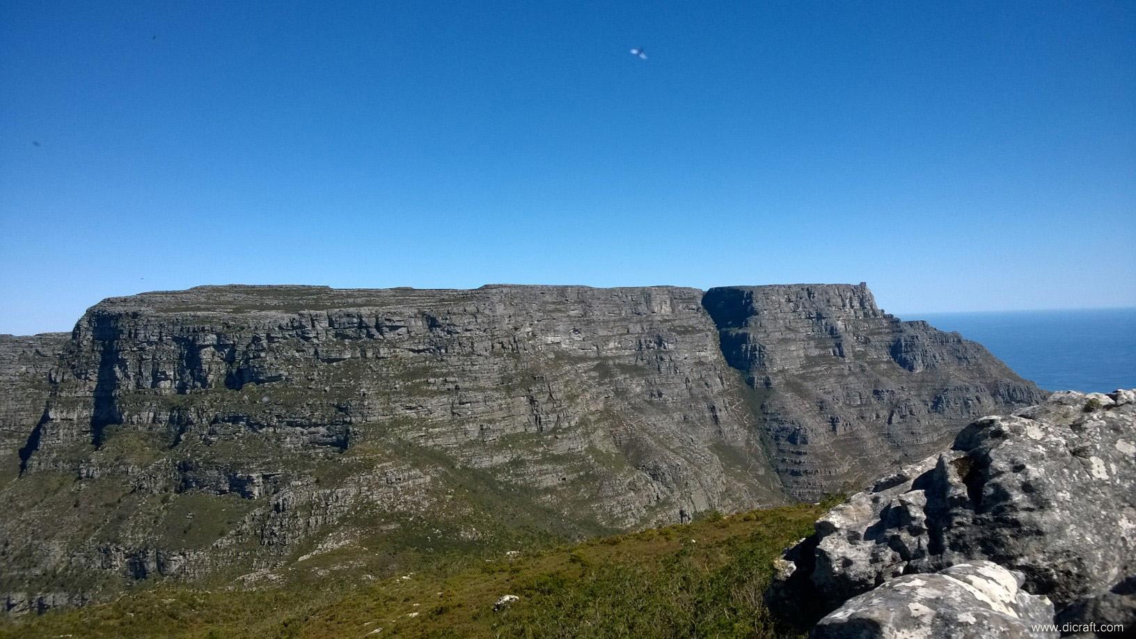 Table Mountain from Devil's Peak