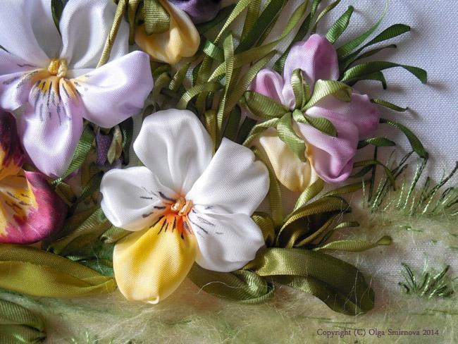 More beautiful pansies