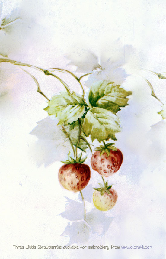Three Little Strawberries