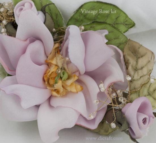 Vintage Rose by Karen Fraser from California