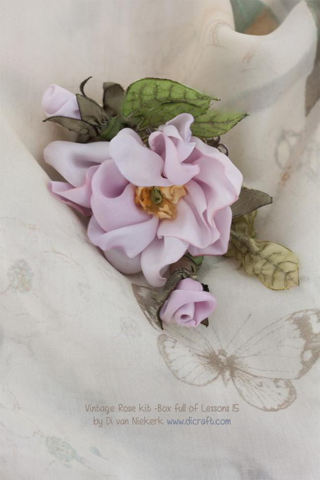 Vintage Rose kit - Box of lessons 15