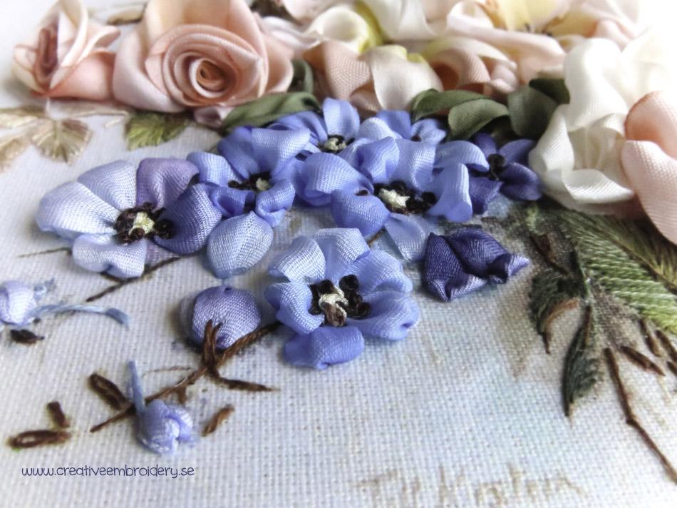 6Fuchsias, Roses & Delphiniums - del 2 - stor