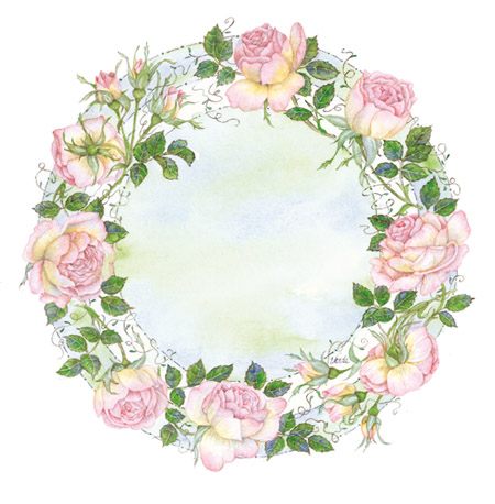 Circle of Roses design for the COMPETITION