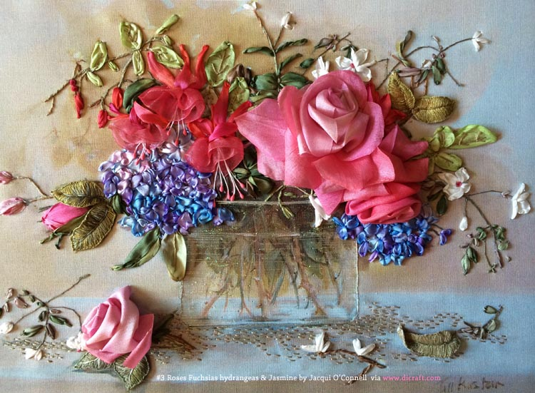#3 Roses Fuchsias Hydrangeas & Jasmine