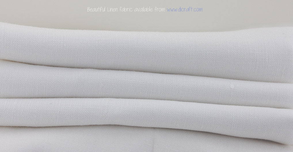 Linen fabric for Ribbon Embroidery