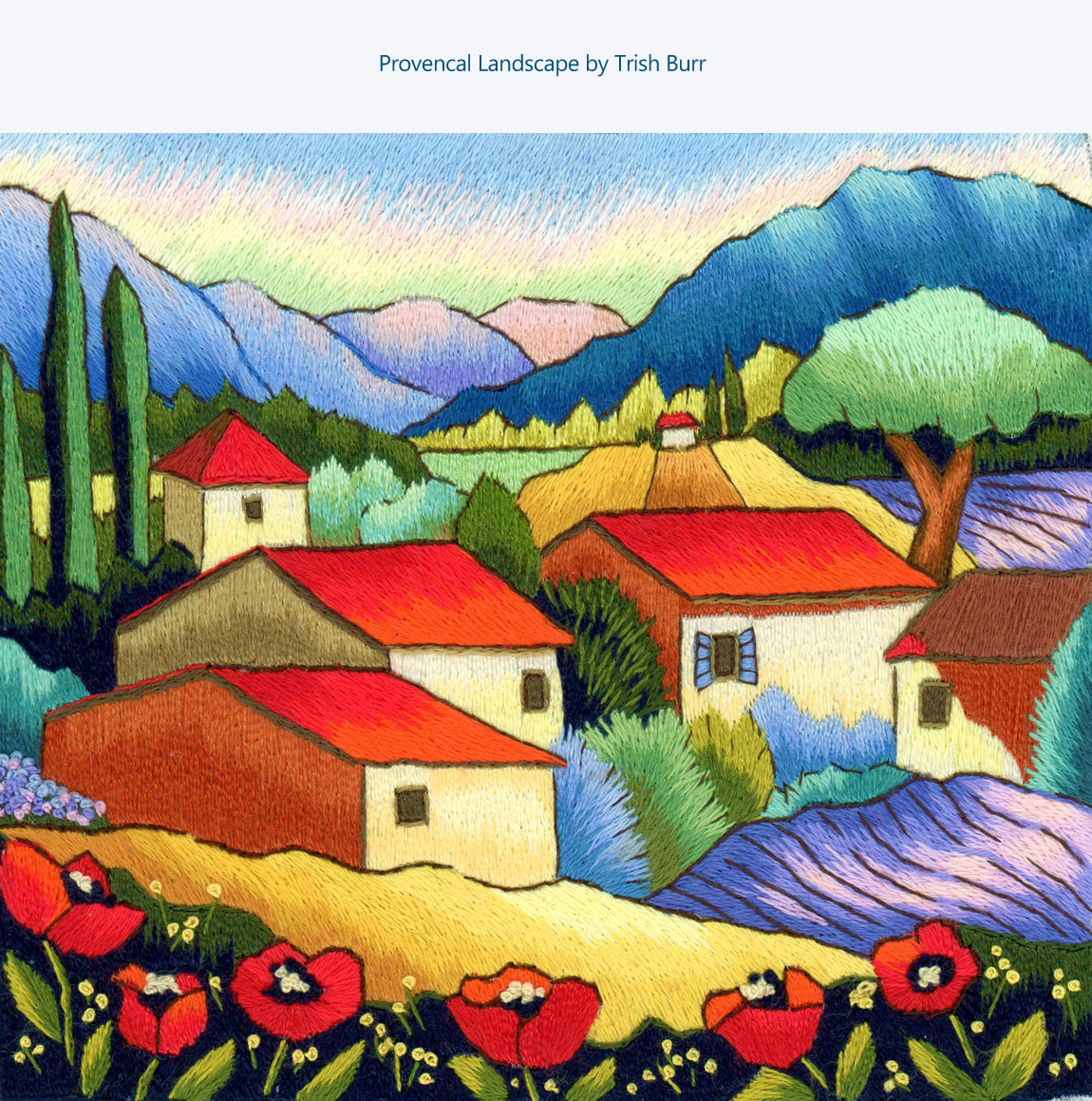 Provençal Landscape by Trish Burr