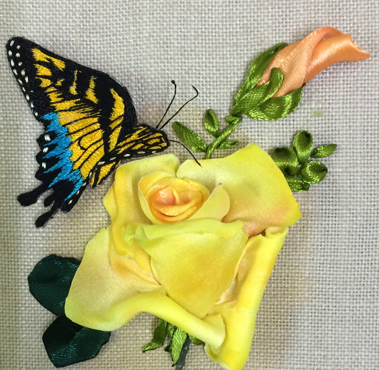1B- A Rose and a Butterfly by Dr Gurpreet Kaur from India