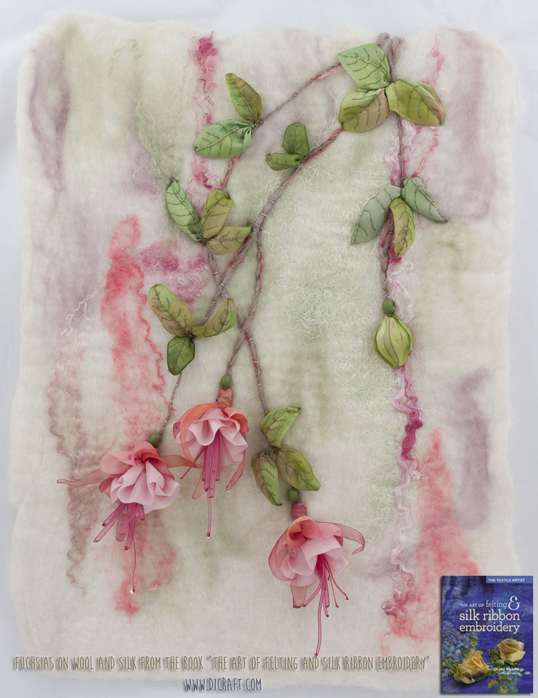 Fuchsias-on-wool-and-silk
