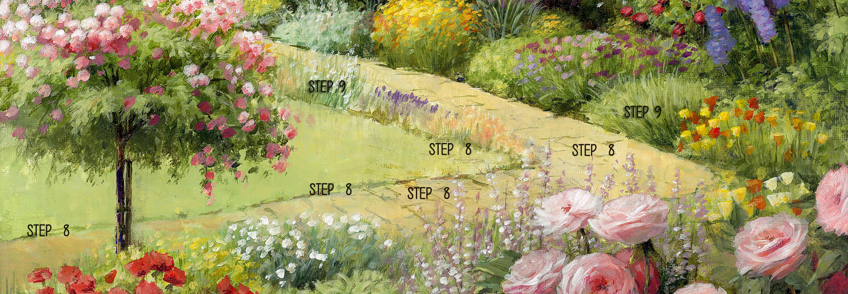 Steps 8 and 9